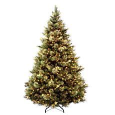 National Tree Carolina Pine 6.5' Tree with 650 Clear Lights