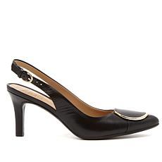 Naturalizer Nora Leather Slingback Pointed-Toe Pump