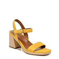 Naturalizer Rose Leather Heeled Sandal