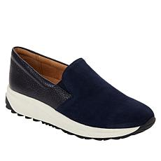 Naturalizer Selah Leather Wedge Slip-On Sneaker