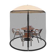 Nature Spring 7.5' Patio Umbrella Mosquito Netting
