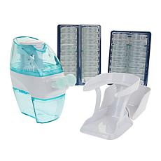 Navage Nasal Care System with Countertop Caddy and 38 SaltPods