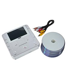 """NAXA Multi-Media VHS-to-DVD Recorder with 4.3"""" Screen & 20 Blank DVDs"""