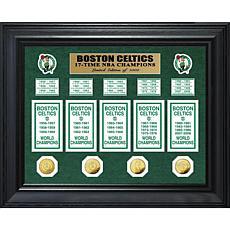 NBA Celtics 17-Time NBA Champs Banner Collection