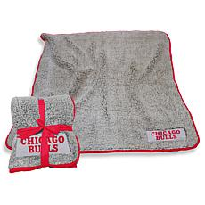 NBA Frosty Fleece Throw - Chicago Bulls