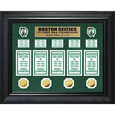 NBA Warriors 5-Time NBA Champs Banner Collection