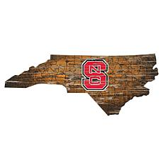 NC State University Distressed State with Logo
