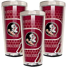 NCAA 3-piece Shot Glass Set - Florida State