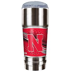 NCAA 32 oz. Stainless Steel Pro Tumbler - Nebraska