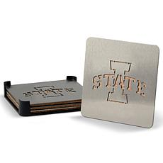NCAA Boasters 4-Piece Coaster Set - Iowa State Cyclones