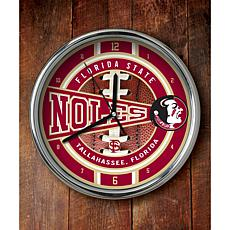 NCAA Chrome Clock - Florida State
