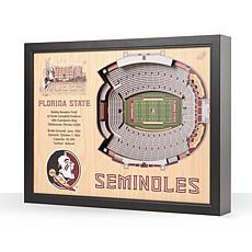 NCAA FL State Seminoles StadiumViews Wall Art - Doak Campbell Stadium