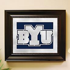 NCAA Laser Cut Logo Wall Art - Brigham Young