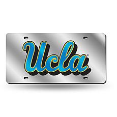 NCAA Laser Tag Silver License Plate - UCLA