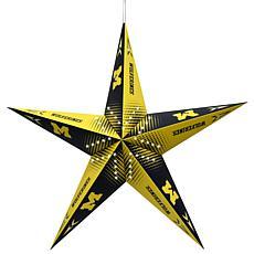 NCAA Michigan Wolverines Star Lantern