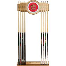 NCAA Wood and Mirror Wall Cue Rack - Maryland