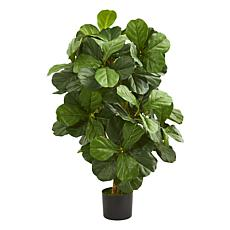 Nearly Natural 3.5 Ft. Fiddle Leaf Artificial Tree