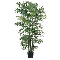Nearly Natural 6 ft. 8-Trunks Areca Palm Tree