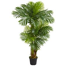 Nearly Natural 6 ft. Artificial Hawaii Palm Tree