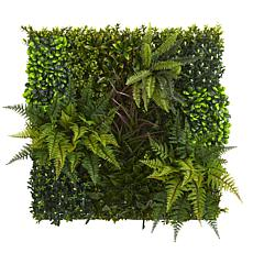 "Nearly Natural Artificial Living Wall Indoor/Outdoor - 29"" x 29"""