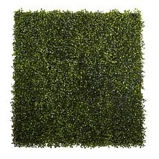 "Nearly Natural Boxwood Mat Set of 12 - 12"" x 10"""