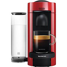 Nespresso VertuoPlus Cherry Red Single-Serve Coffee Espresso  Machine