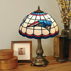 New England Patriots Tiffany Style Table Lamp