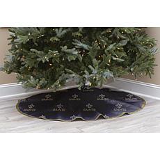 New Orleans Saints Christmas Tree Skirt
