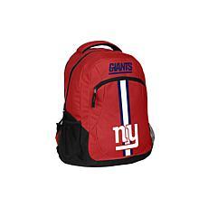 New York Giants NFL Action Stripe Logo Backpack