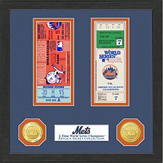 New York Mets 2-Time World Series Ticket Collection