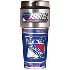 New York Rangers Travel Tumbler w/ Metallic Graphics an