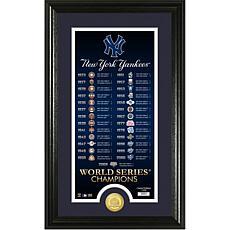 New York Yankees Legacy Supreme Bronze Coin Photo Mint