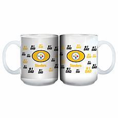 NFL 15 oz. Father's Day Team Mug - Steelers