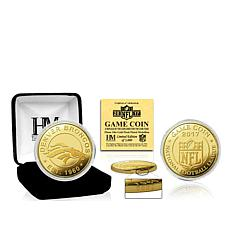 NFL 2017 Gold Mint Game Coin by The Highland Mint