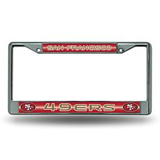 NFL Bling Chrome Frame - 49ers