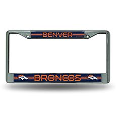 NFL Bling Chrome Frame - Broncos