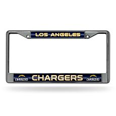 NFL Bling Chrome Frame - Chargers