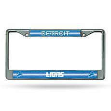 NFL Bling Chrome Frame - Lions