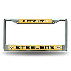 NFL Bling Chrome Frame - Steelers