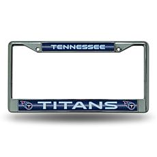 NFL Bling Chrome Frame - Titans