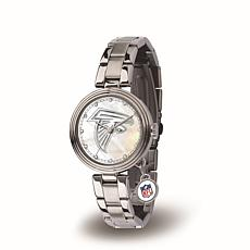 NFL Crystal Charm Watch - Atlanta Falcons