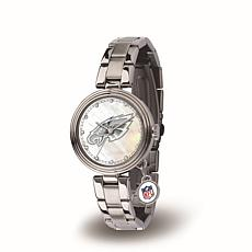 NFL Crystal Charm Watch - Philadelphia Eagles