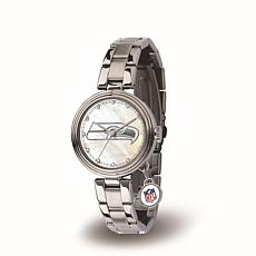 NFL Crystal Charm Watch - Seattle Seahawks