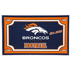 NFL Embossed Door Mat - Broncos