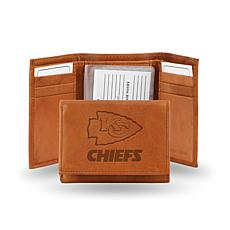 NFL Embossed Trifold Wallet - Chiefs