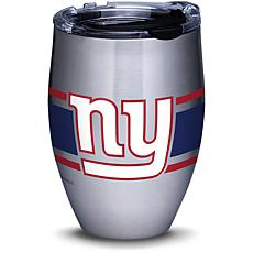 NFL New York Giants Stripes 12 oz Stainless Steel Tumbler with lid