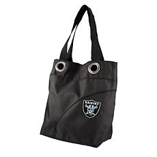 NFL Oakland Raiders Color Sheen Tote