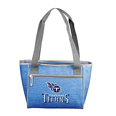 NFL Officially Licensed Crosshatch 16-Can Cooler Tote - Titans