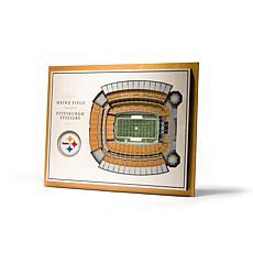 NFL Pittsburgh Steelers StadiumViews 3-D Wall Art - Heinz Field