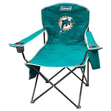 NFL Quad Chair with Armrest Cooler - Dolphins